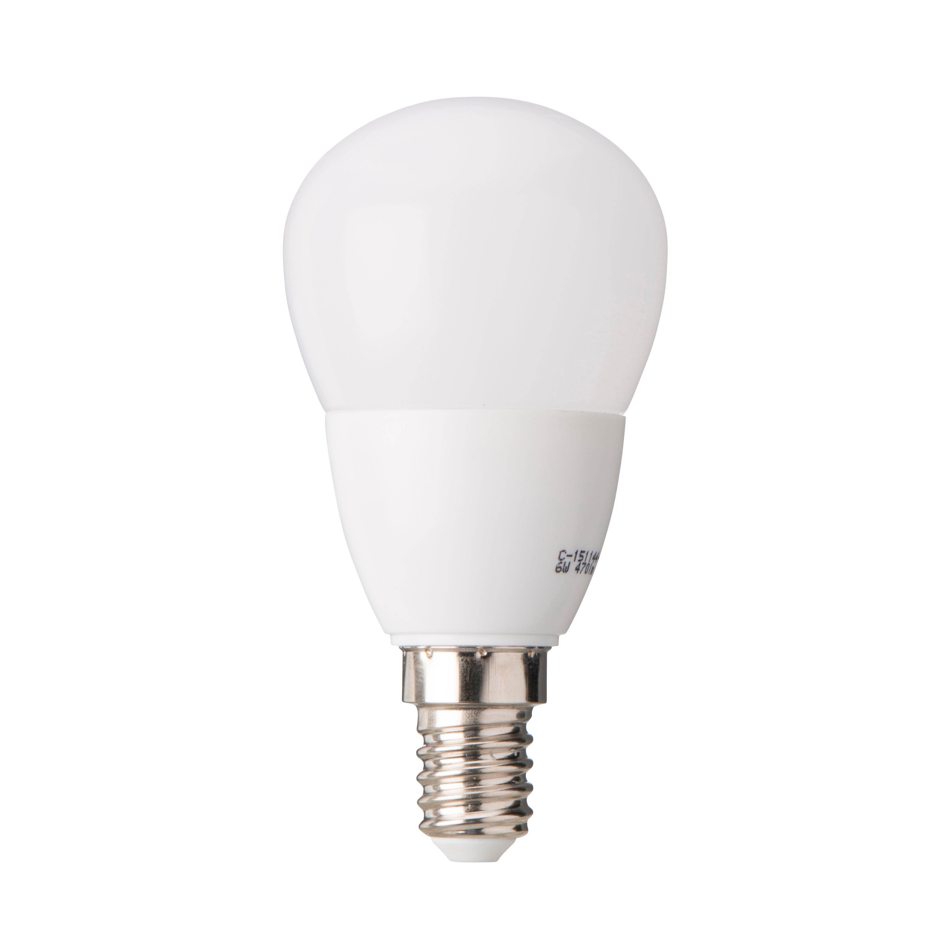 diall e14 470lm led dimmable ball light bulb departments diy at b q. Black Bedroom Furniture Sets. Home Design Ideas