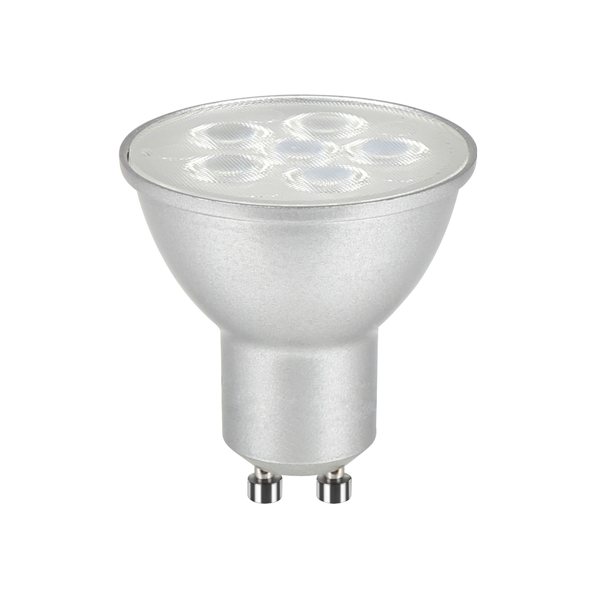 diall gu10 540lm led dimmable reflector light bulb departments diy at b q. Black Bedroom Furniture Sets. Home Design Ideas