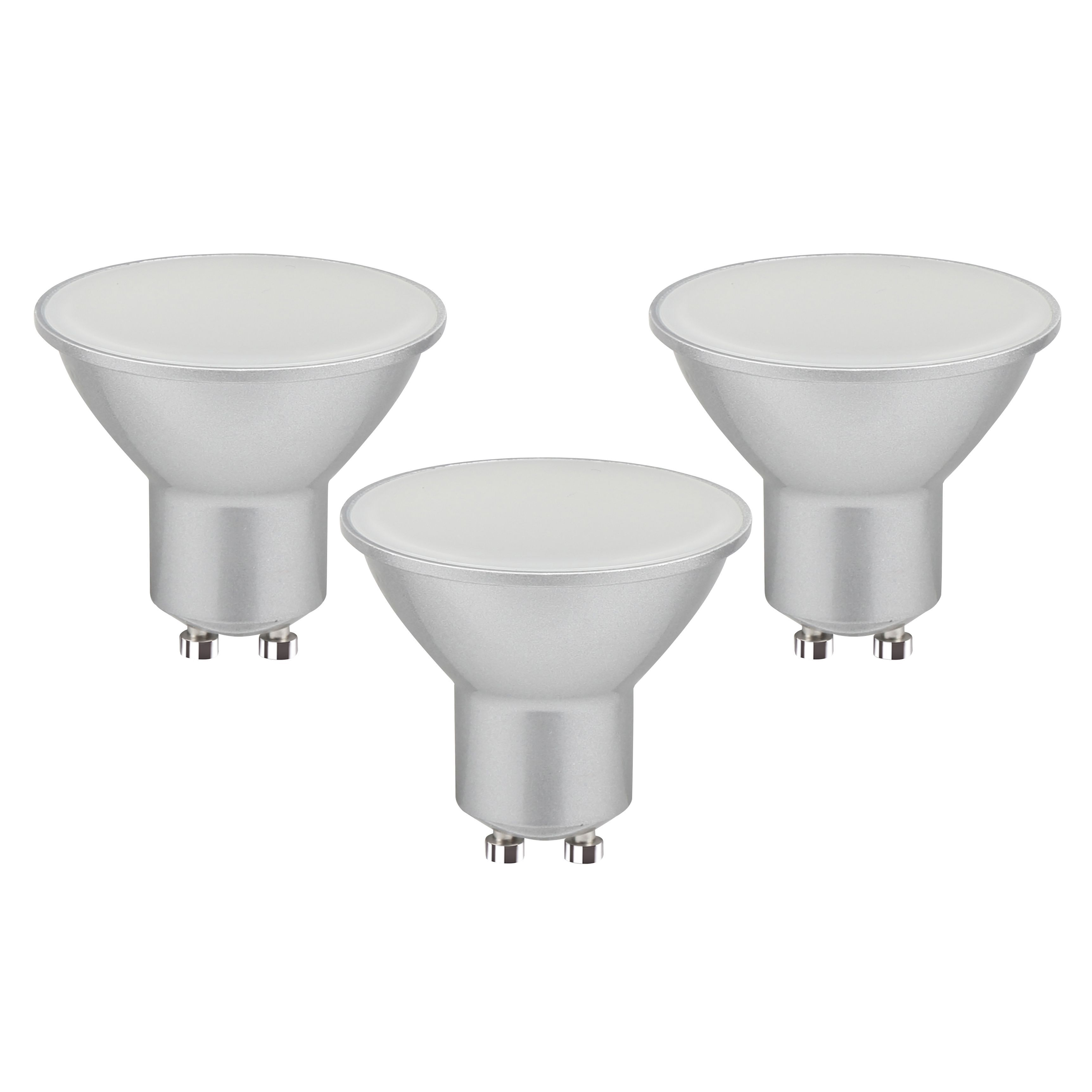 Diall Gu10 340lm Led Reflector Light Bulb, Pack Of 3