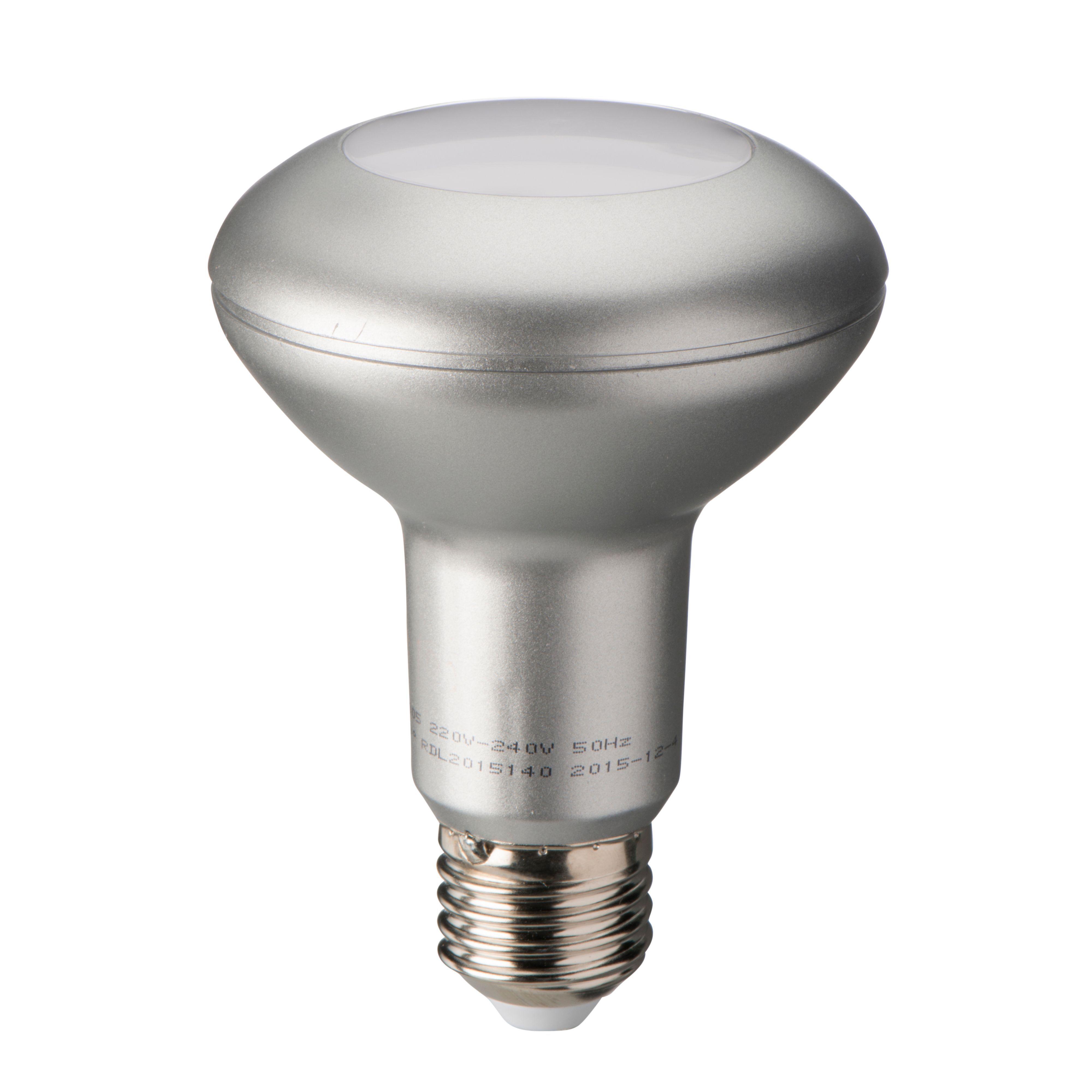 Diall E27 390lm LED R80 Light Bulb