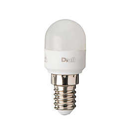 Diall E14 140lm LED T26 Light Bulb