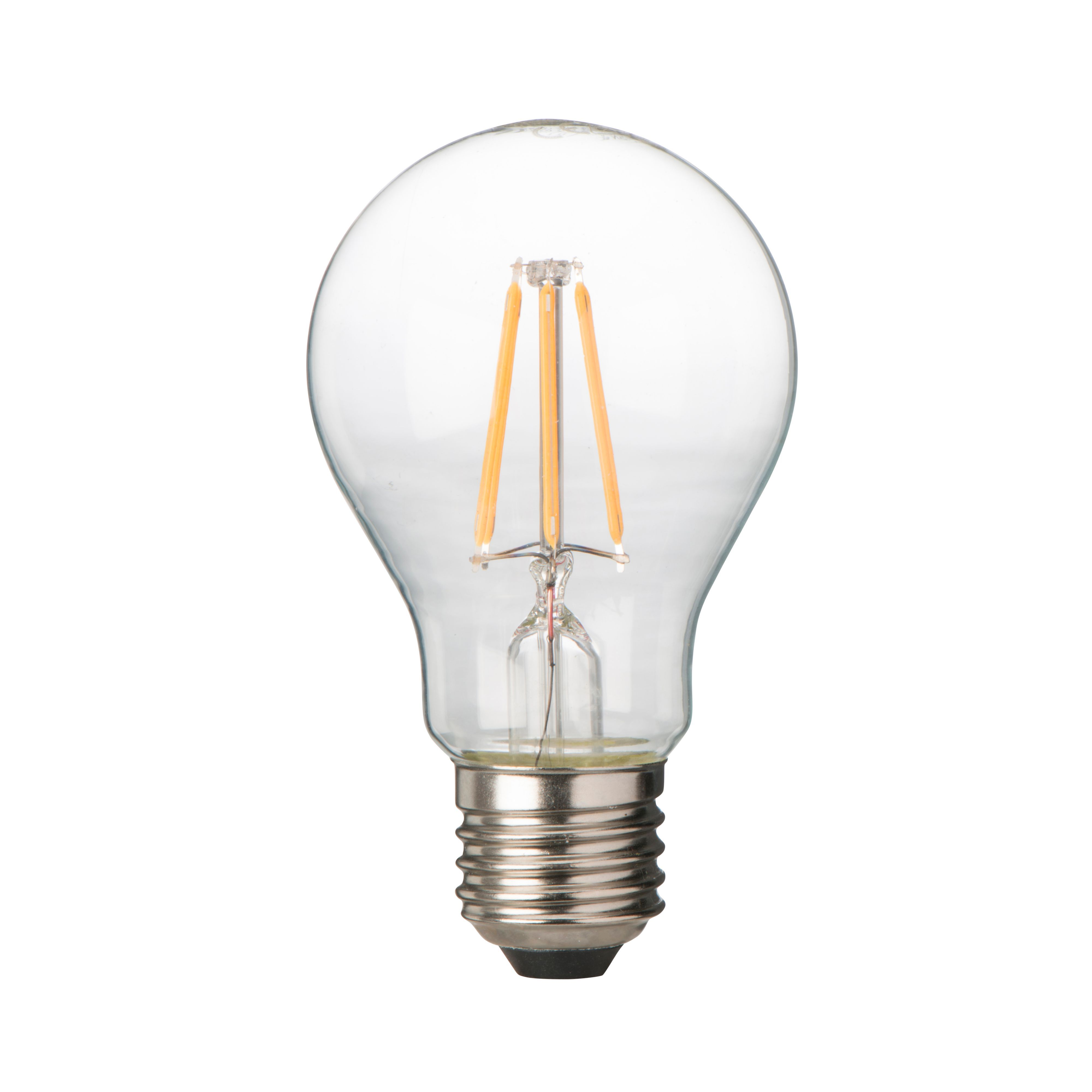 diall e27 6w led filament classic light bulb departments diy at b q. Black Bedroom Furniture Sets. Home Design Ideas