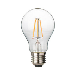 Diall E27 6W LED Filament Classic Light Bulb