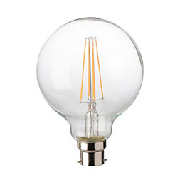 Diall Bayonet Cap (B22) 8W LED Filament Ball