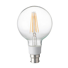 Diall B22 12W LED Filament Ball Light Bulb