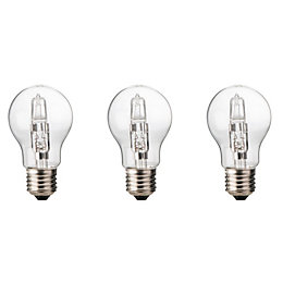 Diall E27 77W Halogen Dimmable Classic Light Bulb,