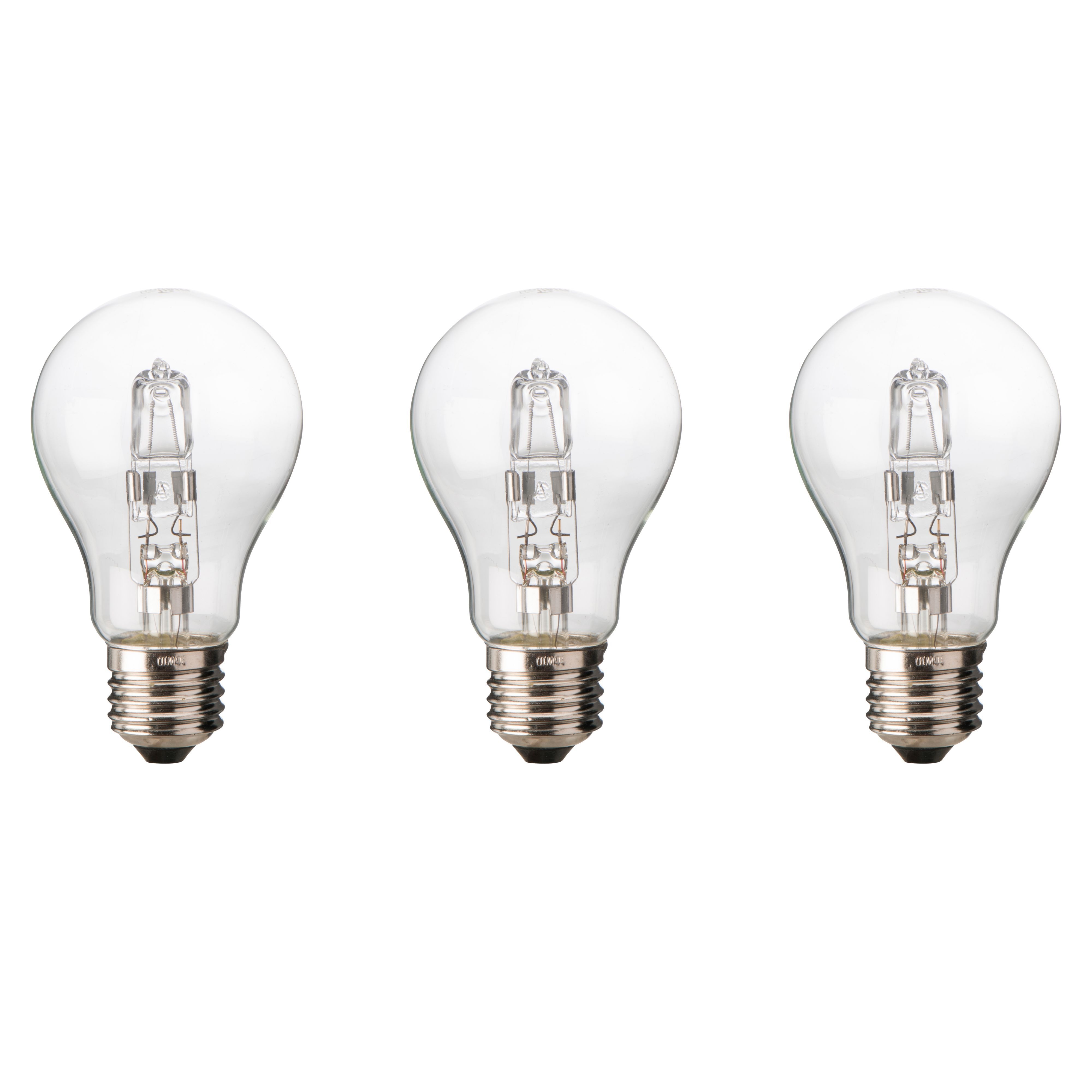 Diall E27 120W Halogen Dimmable Classic Light Bulb, Pack