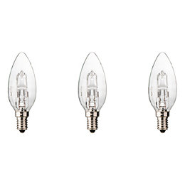 Diall E14 19W Halogen Dimmable Candle Light Bulb,