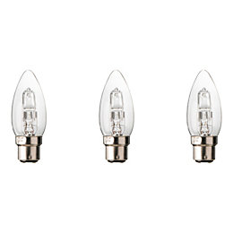 Diall B22 30W Halogen Dimmable Candle Light Bulb,