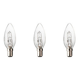 Diall B15 30W Halogen Dimmable Candle Light Bulb,