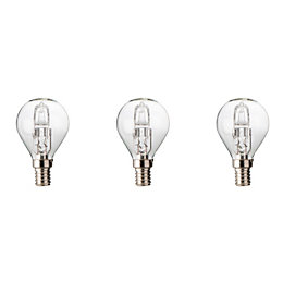 Diall E14 46W Halogen Dimmable Ball Light Bulb,