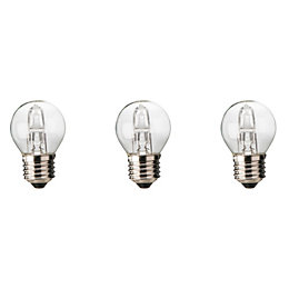 Diall E27 46W Halogen Dimmable Ball Light Bulb,