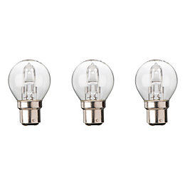 Diall B22 30W Halogen Dimmable Mini Globe Light