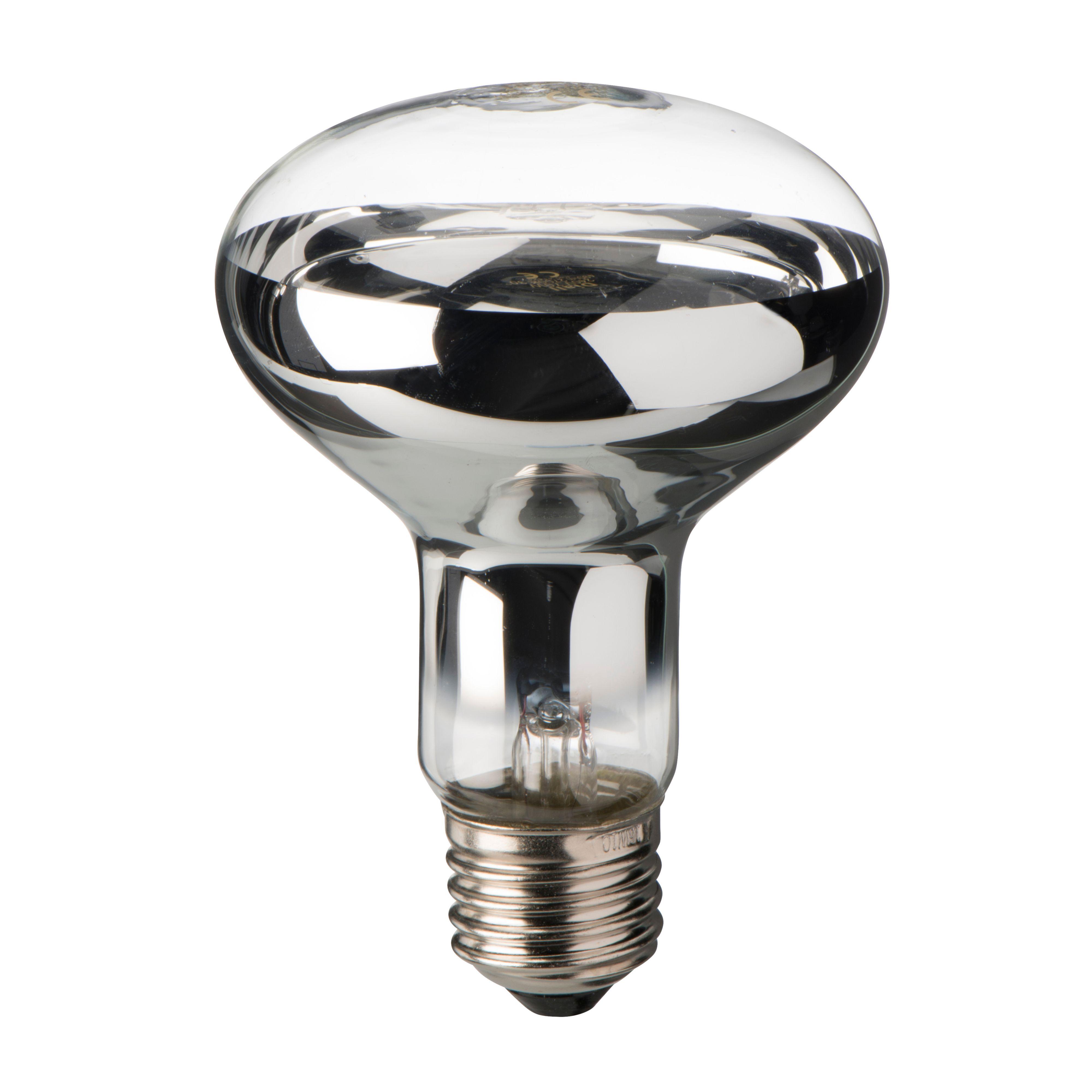 Diall E27 70w Halogen Dimmable R80 Light Bulb