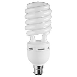 Diall B22 35W CFL Spiral Light Bulb