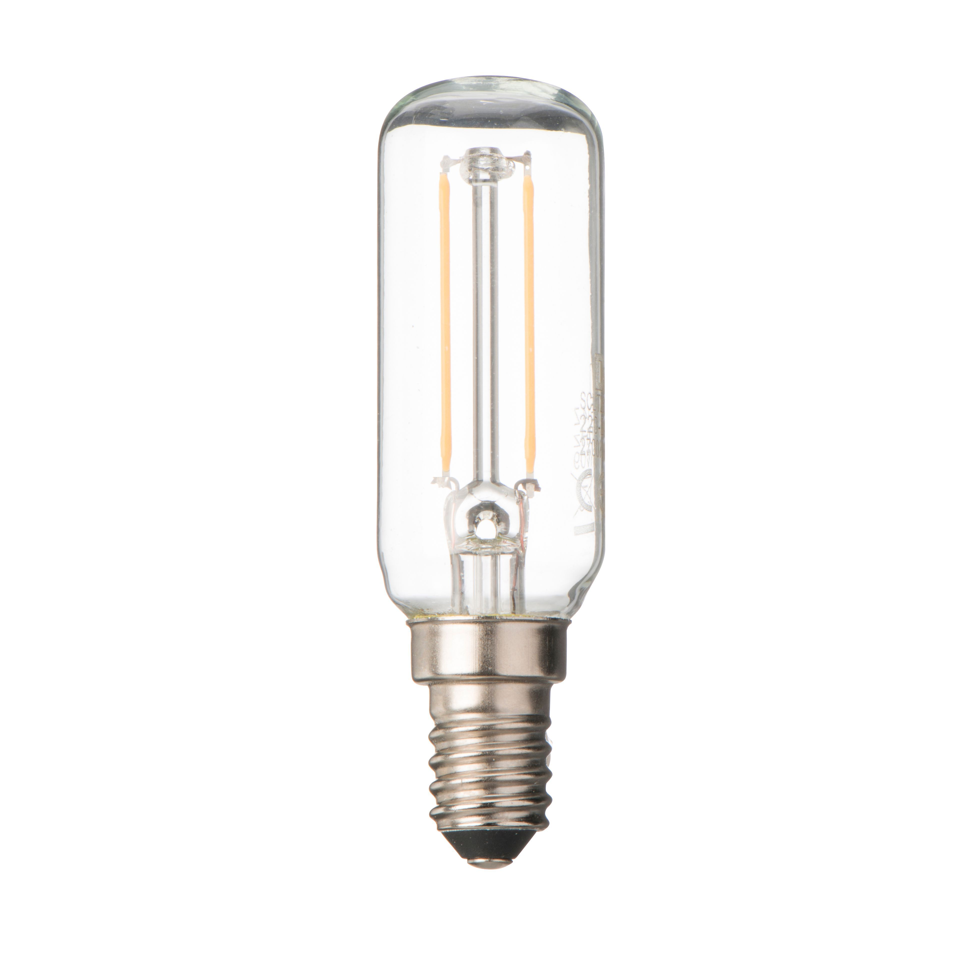 diall e14 2w led filament t26 light bulb departments diy at b q. Black Bedroom Furniture Sets. Home Design Ideas