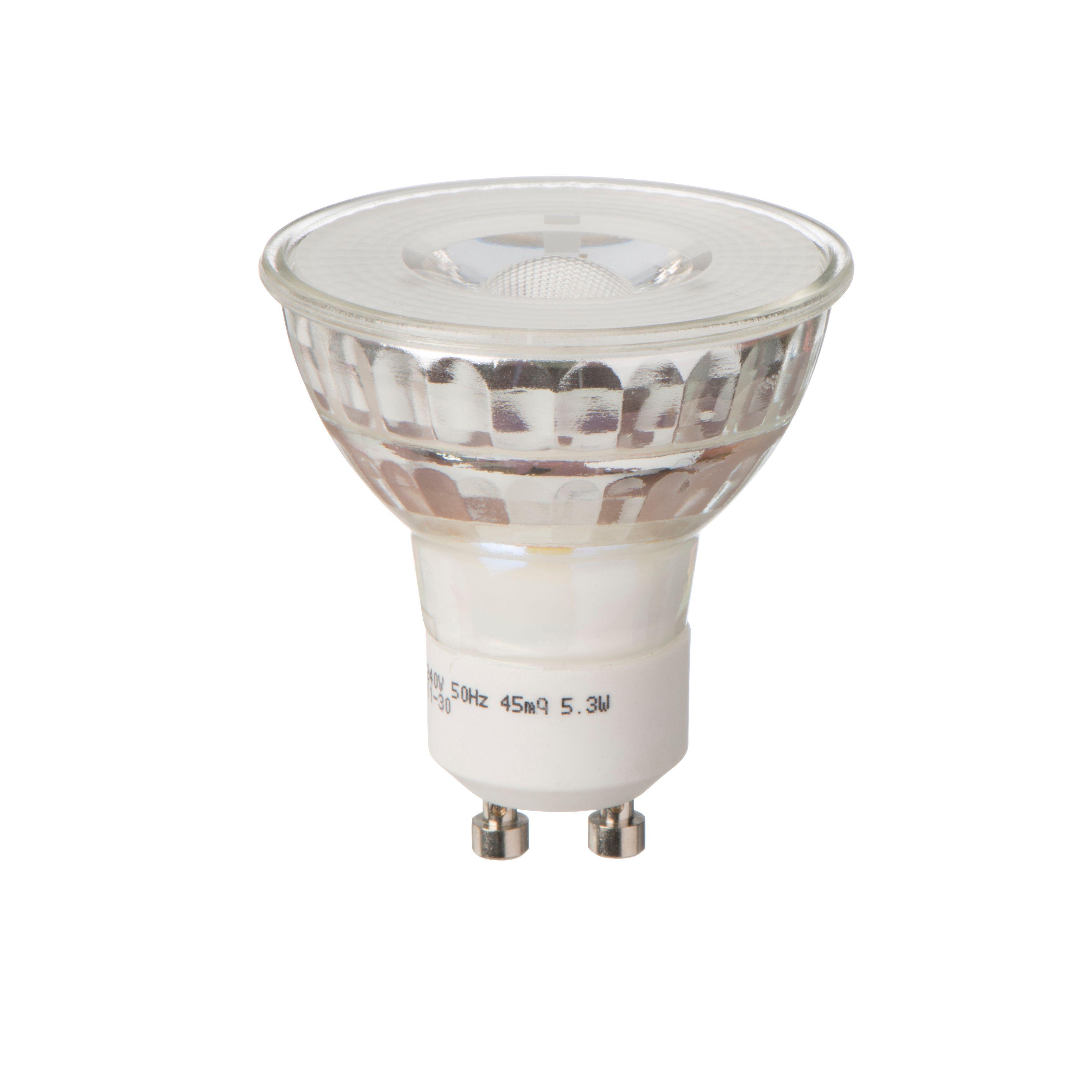 Diall Gu10 345lm Led Reflector Light Bulb
