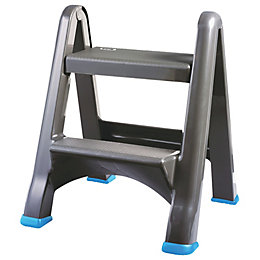 Mac Allister 2 Tread Plastic Step Stool