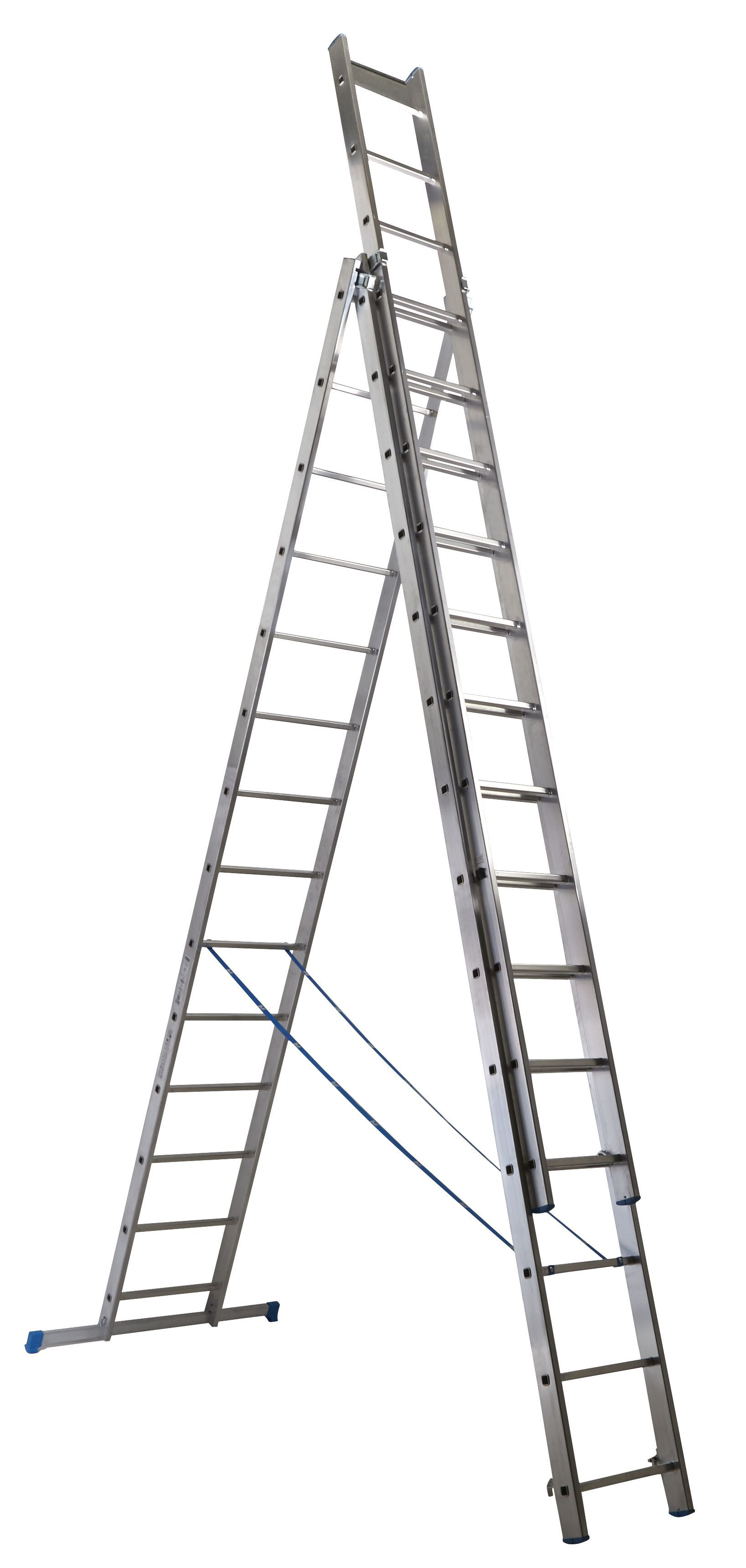 Mac Allister Trade 42 Tread Combination Ladder ...