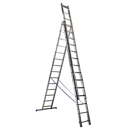 Mac Allister Trade 42 Tread Combination Ladder
