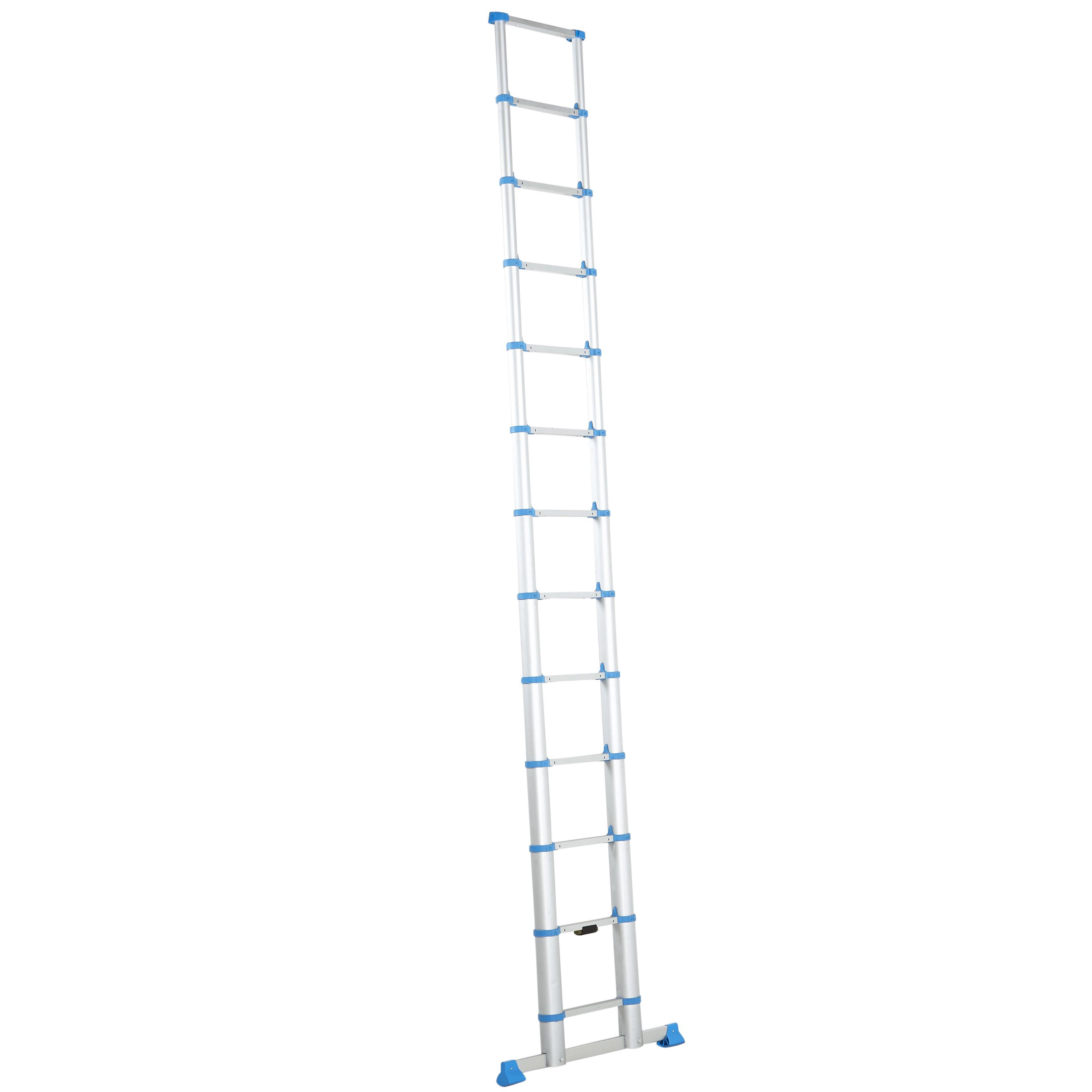 Mac Allister Telescopic 13 Tread Extension Ladder