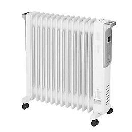 Blyss 3000W White Oil Filled Radiator