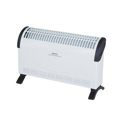 1700 2000w white electric dry inertia heater departments diy at b q. Black Bedroom Furniture Sets. Home Design Ideas