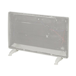 Electric 1500W White Radiant Panel Heater