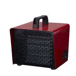 Electric 2000W Red & Black Ptc Heater