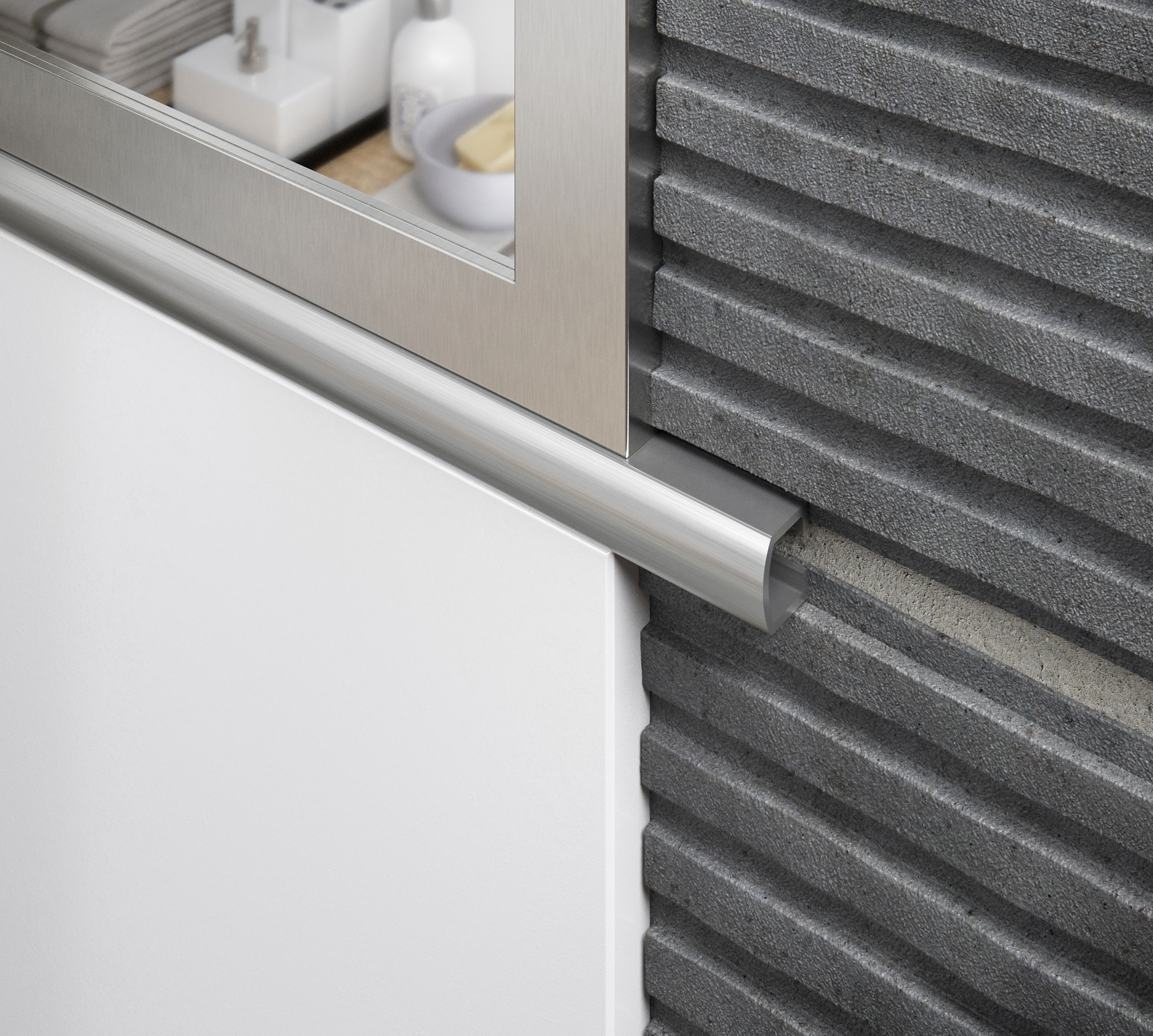 Listello Aluminium Tile Trims