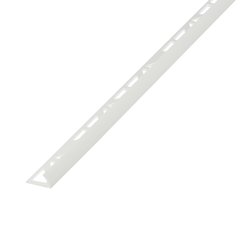 Diall White Pvc External Edge Tile Trim Departments