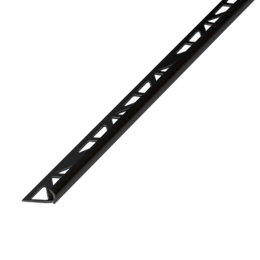 Diall Black PVC External Edge Tile Trim