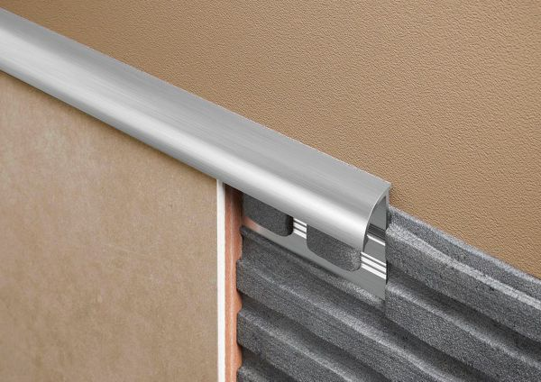 "1/4"" Round External Edge Aluminium Trims"