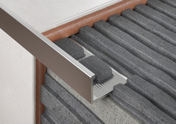 Straight Edge Aluminium Tile Trims