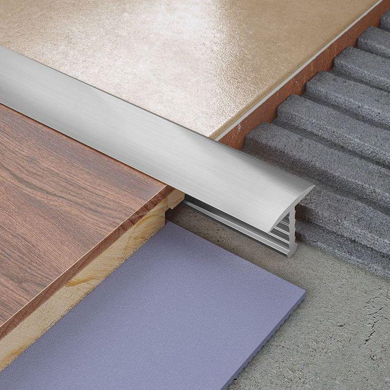 Tile Trims Aluminium Amp Plastic Tile Trims Diy At B Amp Q