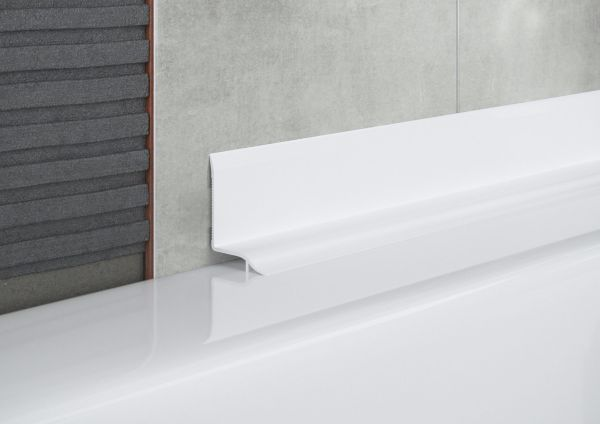 Self Adhesive Curved Bath Seal Trim