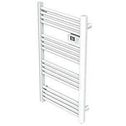 Kandor White Electrical Towel Warmer (H)980mm (W)550mm