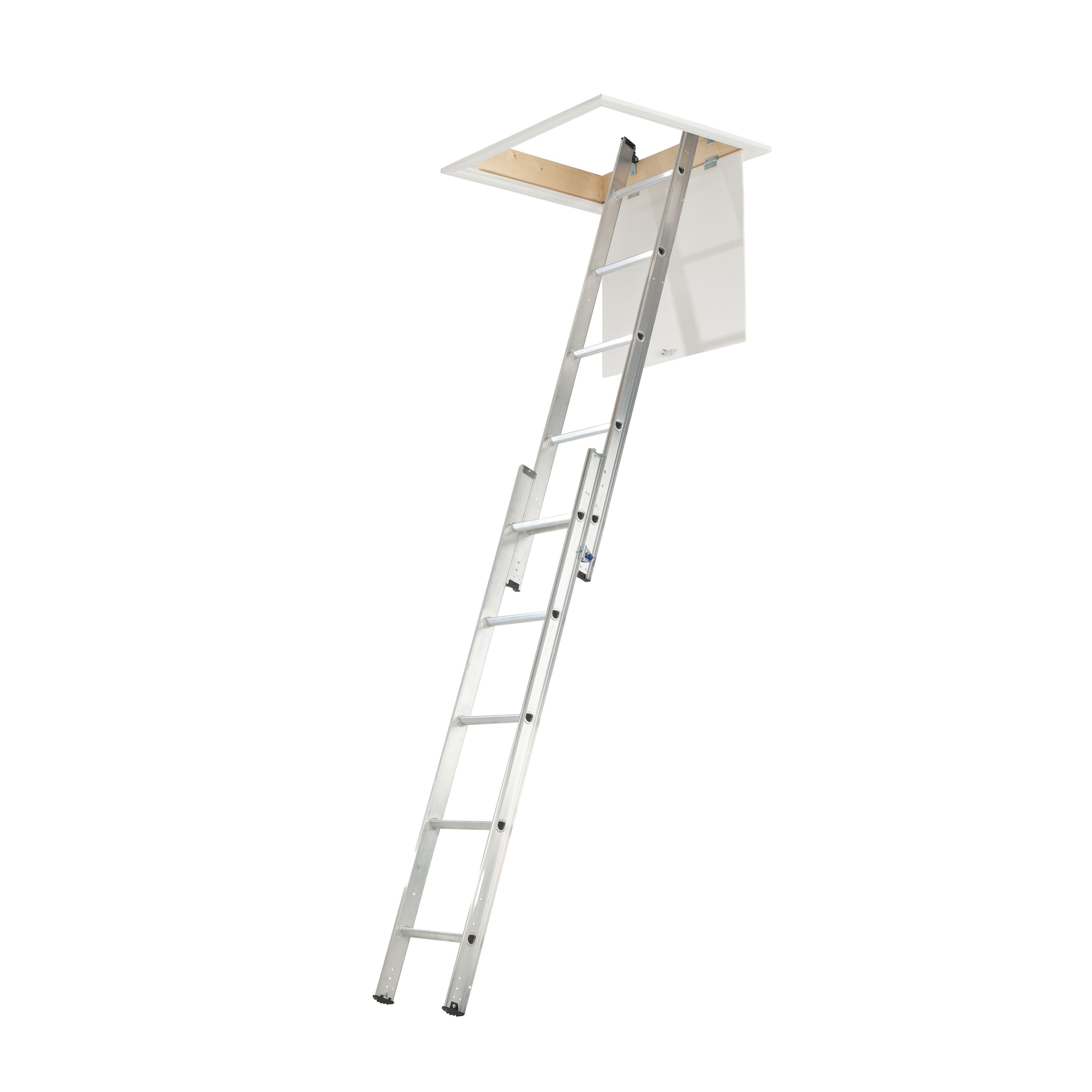2 Section 10 Tread Sliding Loft Ladder