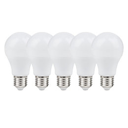 Diall E27 806lm LED GLS Light Bulb, Pack