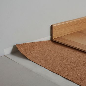 Diall 2mm Laminate & Solid Wood Flooring Cork Underlay