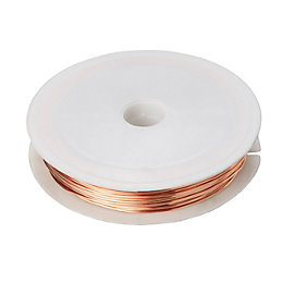 Diall Copper Copper Wire 0.8mm x 50M