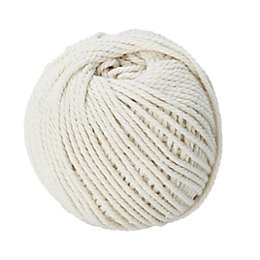Diall Cotton Cotton Twine 1.5mm x 6M