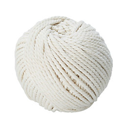Diall Cotton Cotton Twine 2.5mm x 3M