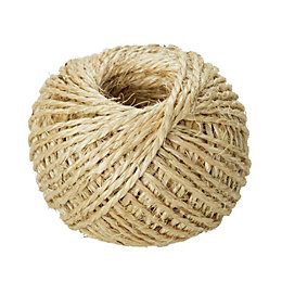 Diall Sisal Sisal Twisted Rope 2mm x 3.6M