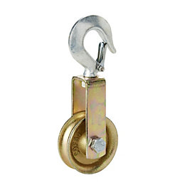 Diall Single Wheel Pulley (Dia) 80mm