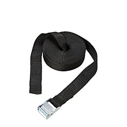Diall Black 5M Cambuckle Tie Down