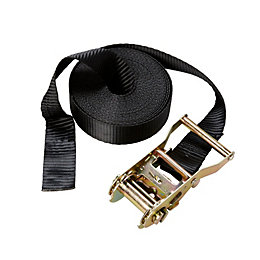 Diall Black 7m Ratchet Tie Down