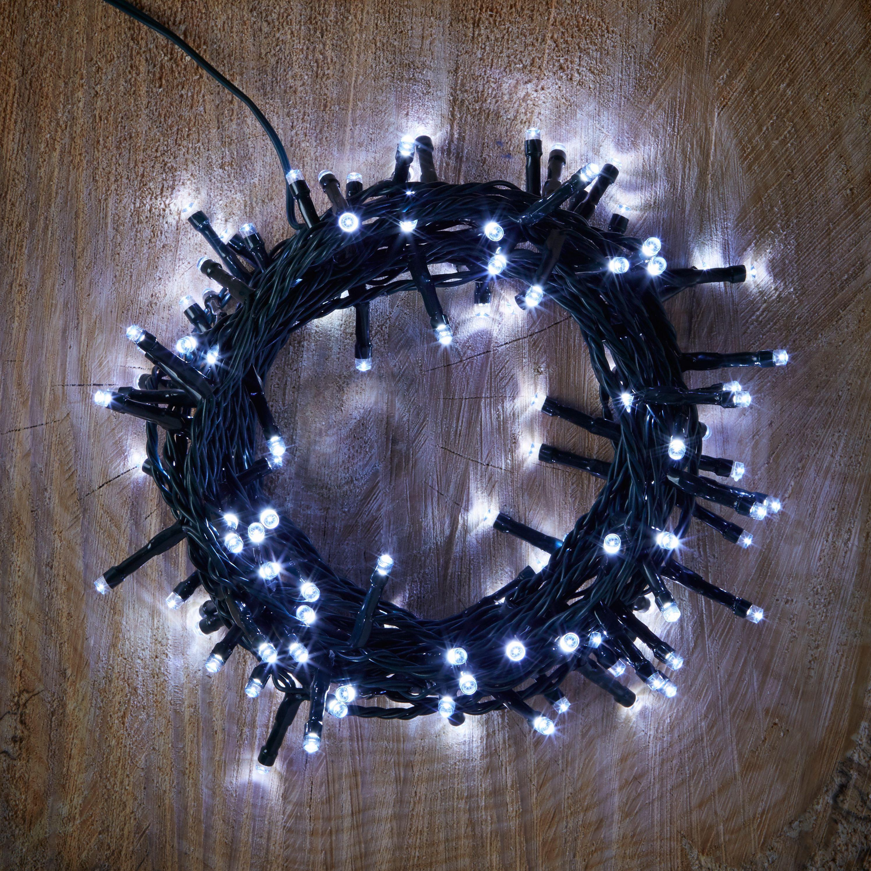 String Lights B And Q : 120 Ice White LED String Lights Departments DIY at B&Q
