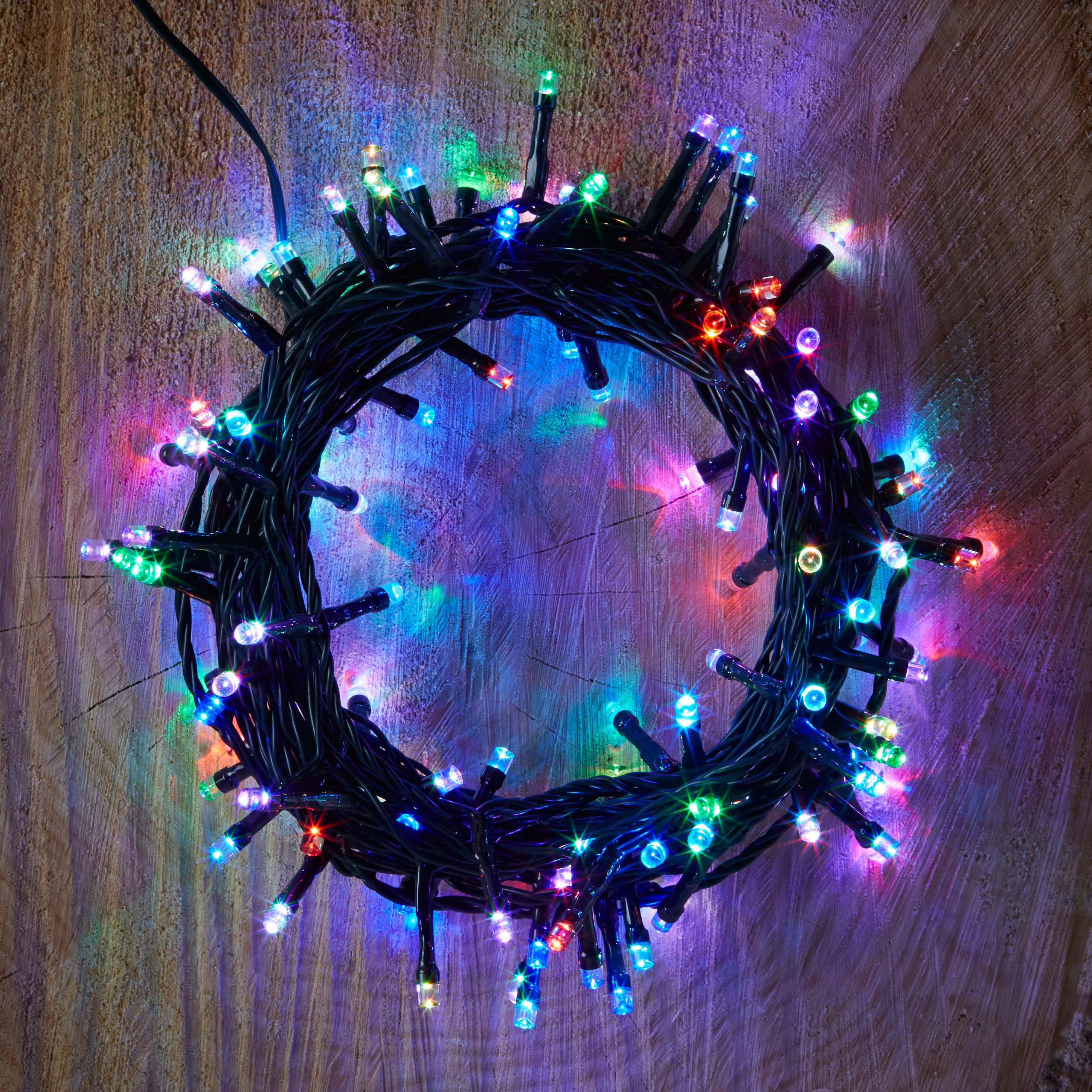 Led String Lights Diy : 120 Colour Changing LED String Lights Departments DIY at B&Q