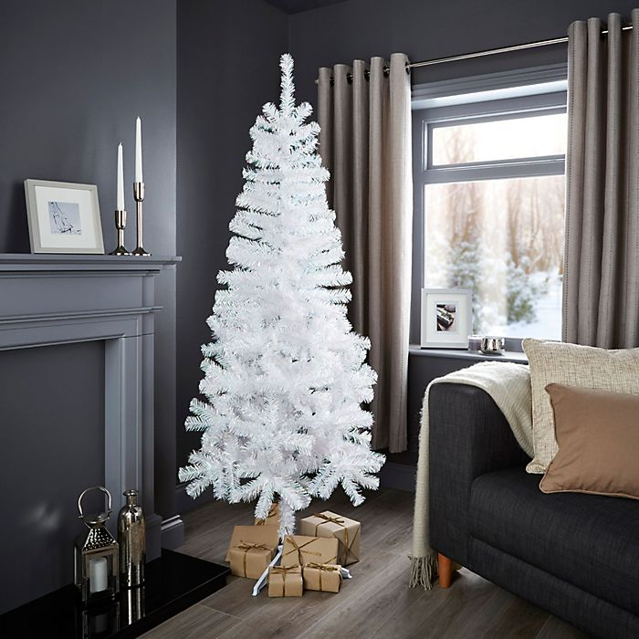 6ft white classic Christmas tree